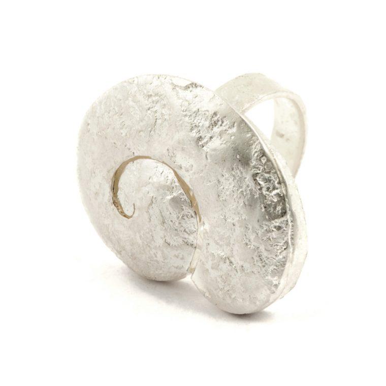 anello nautilus sbiancato