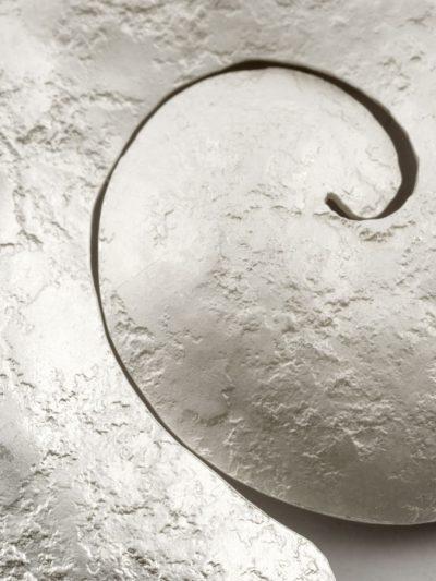 spilla nautilus sbiancato dettaglio